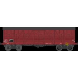 Wagon couvert TP 2 portes EP IIIb SNCF lyw 417239 HO REE WB-526