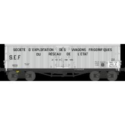 Wagon TP frigo origine ETAT EP II HO REE WB-531