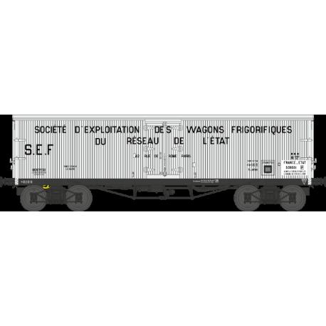 Wagon TP frigo origine ETAT EP II HO REE WB-531 - Maketis