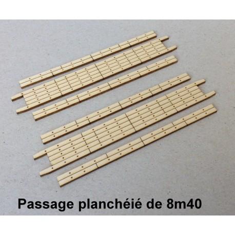 Plancher de PN droit de 8m40 [HO]