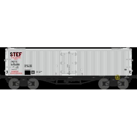 Wagon TP frigo origine à trappes à glace SNCF EP III HO REE WB-535 - Maketis