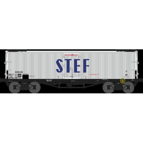 Wagon TP frigo origine à trappes à glace SNCF EP III HO REE WB-536 - Maketis