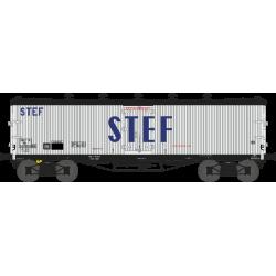 Wagon TP frigo trappes à glace et aérateurs SNCF EP III HO REE WB-537