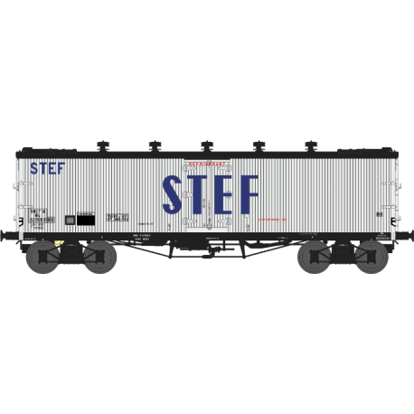Wagon TP frigo trappes à glace et aérateurs SNCF EP III HO REE WB-537 - Maketis