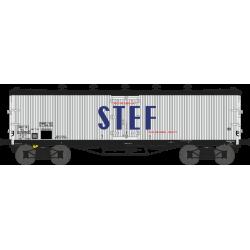 Wagon TP frigo trappes à glace et aérateurs SNCF EP III HO REE WB-538