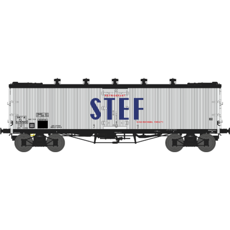 Wagon TP frigo trappes à glace et aérateurs SNCF EP III HO REE WB-538 - Maketis