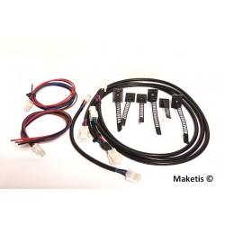Pack câblage Feeder 4 fils module 118x59 cm Maketis MOD10001