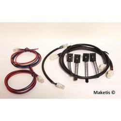 Pack démarrage Feeder 4 fils module 59x59 cm et angle 45° Maketis MOD10002S