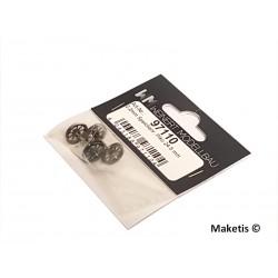Essieu à rayons 2.2mm Piko 24.5 mm 2 pièces HO Weinert 97110 - Maketis