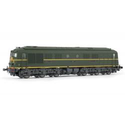 Locomotive analogique diesel CC 65516 livrée verte avec châssis gris du dépôt de Vénissieux Jouef HJ2355