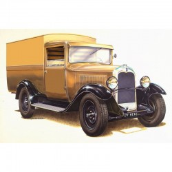 Fourgonnette CITROEN C4 1928 1/24 Heller 80703 - Maketis