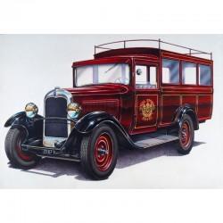 "Petit autobus CITROEN C4 ""Splendid Hotel"" 1/24 Heller 80713 - Maketis"