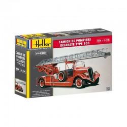 Camion de pompiers BONNEVILLE 1/24 Heller 80780 - Maketis