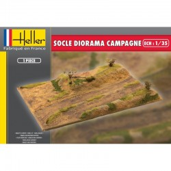 Socle Diorama CAMPAGNE 1/35 Heller 81254 - Maketis