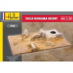 Socle Diorama DESERT 1/35 Heller 81255 - Maketis