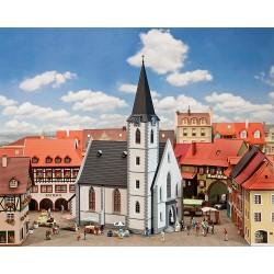 Eglise pour petite ville HO Faller 130490 - Maketis