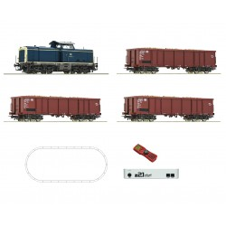 Coffret Digital Z21 Roco HO loco diesel 211 + 3 wagons DB Ep IV 51299 - Maketis