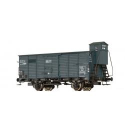 Wagon couvert G10 Kuwf AL Ep II HO Brawa 49094