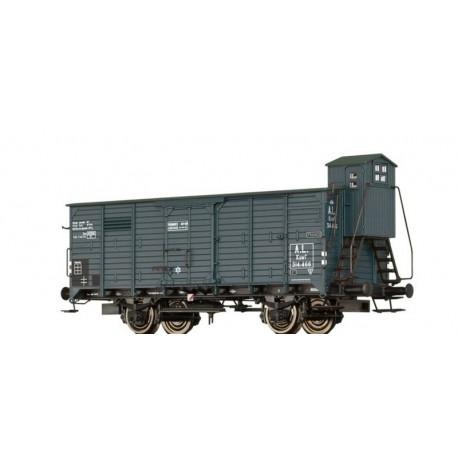 Wagon couvert G10 Kuwf AL Ep II HO Brawa 49094 - Maketis