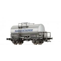 Wagon citerne SCwf Locataire Naphtachimie SNCF Ep III HO Brawa 49217 - Maketis