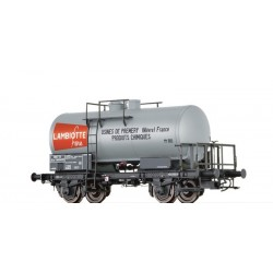Wagon citerne SCwf Lambiotte SNCF Ep III HO Brawa 49229 - Maketis