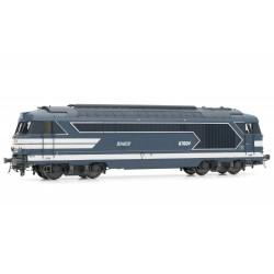 Locomotive Diesel BB 67604 bleue SNCF Ep IV Digital son HO Jouef HJ2340S - Maketis