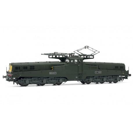 Locomotive électrique CC14129 verte SNCF Ep IV Digital son HO Jouef HJ2346S - Maketis