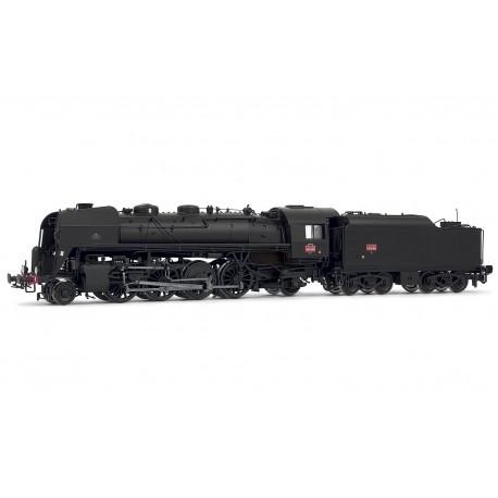 Locomotive à vapeur 141 R 995 fuel SNCF Ep III Digital son HO Jouef HJ2352S - Maketis