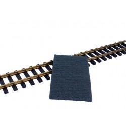 Morceau de tissu polissant pour entretien des rails Schienenreiniger