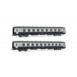 Coffret de 2 voitures DEV AO couchettes Ep IVb HO Jouef HJ4105 - Maketis
