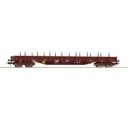 Wagon plat à rancher Res SNCB époque V-VI HO Roco 76946