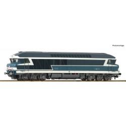 Locomotive diesel CC 72000 SNCF Ep IV Digital Son HO Roco 73005