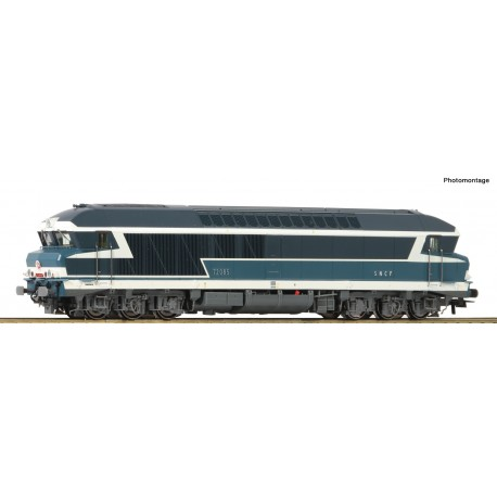 Locomotive diesel CC 72000 Ep IV Digital Son HO Roco 73005 - Maketis