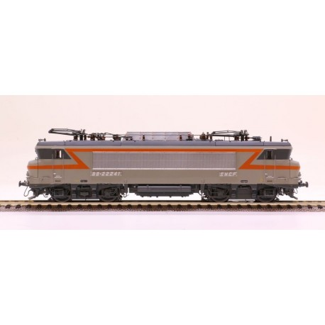 Locomotive BB 22241 gris béton Marseille Ep IV Digital son HO LS Models 10438S - Maketis