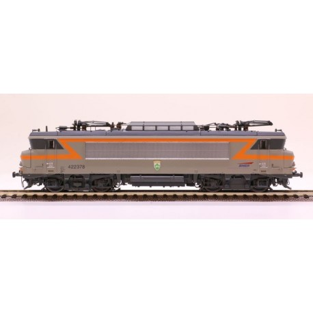 Locomotive BB 22378 gris béton Villeneuve Ep V Digital son HO LS Models 10439S - Maketis