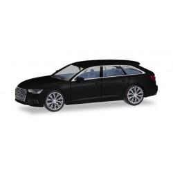Audi A6 ® Avant, noir brillant, avec jantes bicolores, HO, Herpa 430685