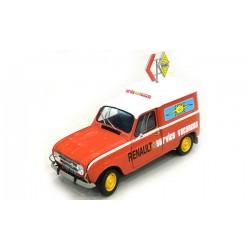 """Maquette Fourgonette R4 """"Renault Service"""" 1/24 EBBRO EBR25012"""