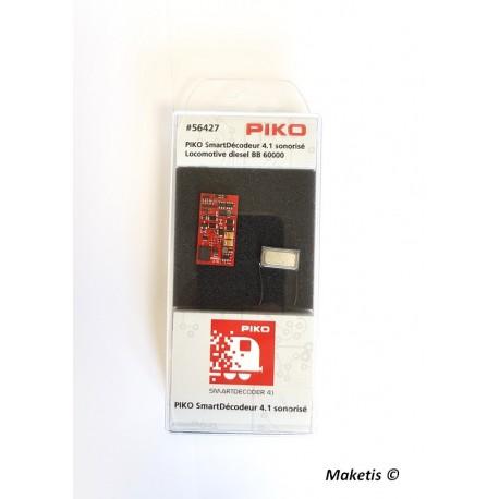 Decodeur sonore + haut parleur pour 60000 Piko 56427
