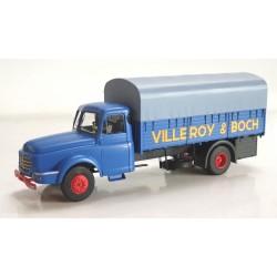 "Camion Willeme Bâché ""VILLEROY & BOCH"" HO REE CB-105 - Maketis"