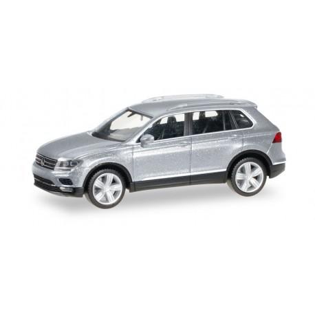 VW Tiguan gris argenté HO, Herpa 038607-004