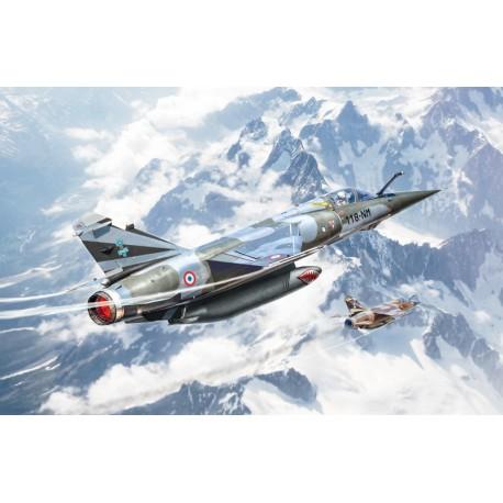 Avion de chasse Bye Bye Mirage F1 1/48 ITALERI 2790