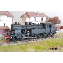 Locomotive à vapeur 232 TC Ep III HO Roco 72166 - Maketis