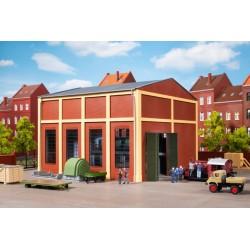 Poste convertisseur et équipements intérieurs HO Auhagen 11458 - Maketis
