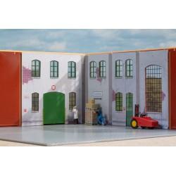 Murs intérieurs en carton HO Auhagen 80353 - Maketis