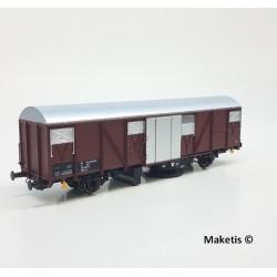 Wagon Nettoyeur de voie SNCF - MABAR 81802-B