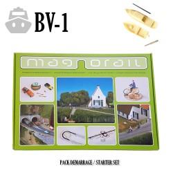 Complete Set Magnorail + 2 boats HO/TT & N/Z. MRBV-1 - Maketis