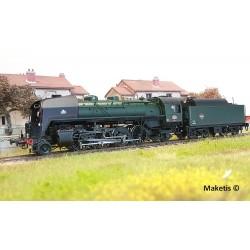 Locomotive à vapeur 141 R 773 SNCF édition spéciale HO Digital son Jouef HJ2381 - Maketis