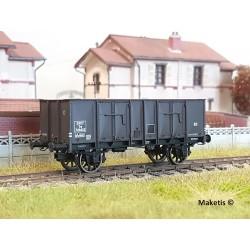 Wagon tombereau OCEM 29 Brun EP III SNCF HO REE WB-484