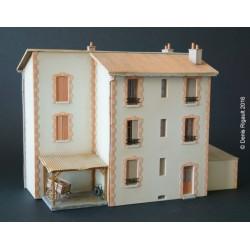 Maison de ville - Echelle HO