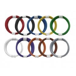 Câblage souple multibrins 0,04 mm² bobine de 10 m Donau - Maketis